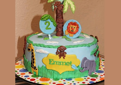 Jungle Theme 2nd Birthday